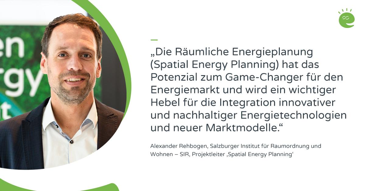 Projektleiter Alexander Rehbogen zum Projekt