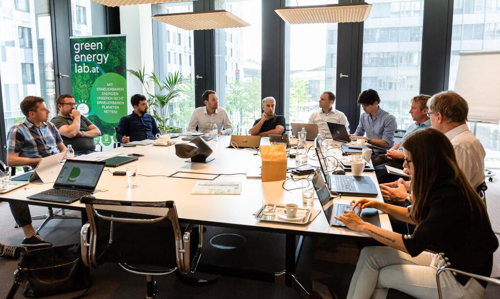 ProjektleiterInnen-Treffen im Green Energy Lab