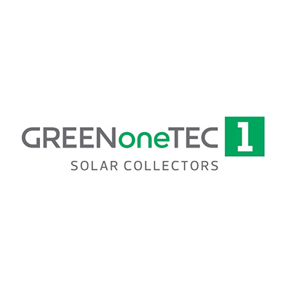 GREEN one TEC 1 – solar collectors
