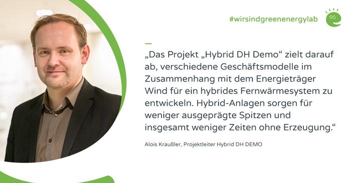 Projektleiter Alois Kraußler zur HDH Demo