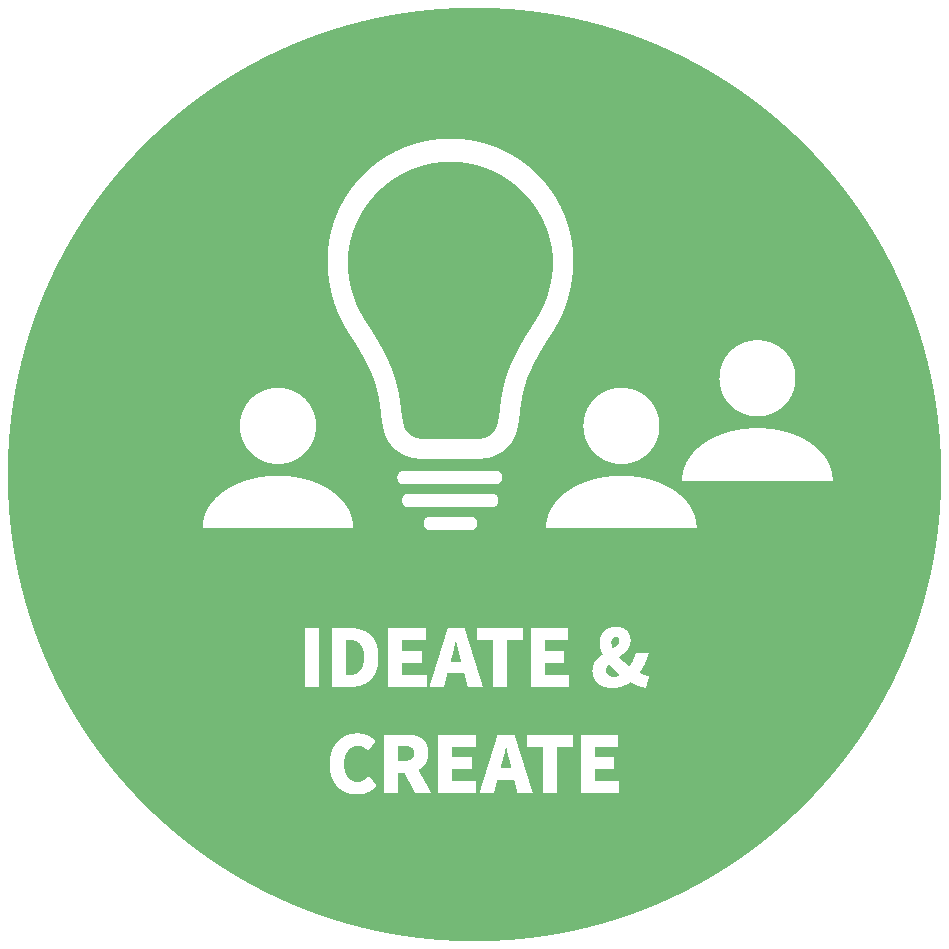 Generating ideas and defining innovation projects