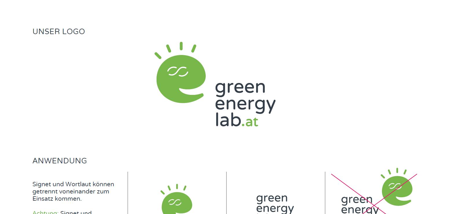 Logonutzung Green Energy Lab