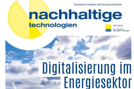 Nachhaltige Technologien - Digitalisierung im Energiesektor